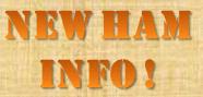 New Ham Radio Operator Information